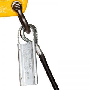 La targhetta identificativa in alluminio ALITAG è durevole, resistente e versatile.